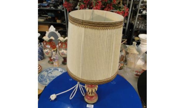 Houten lampvoet