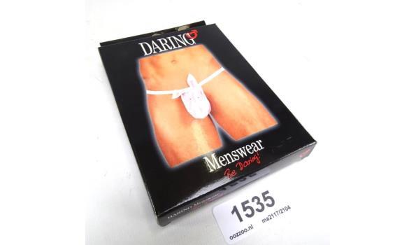 Ondeugende herenslip in originele verpakking