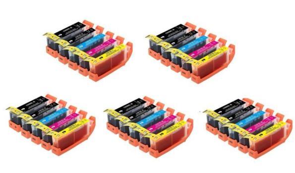Printer Cartridge C-550/551XL Multipack 5 stuks voor Canon, 5x