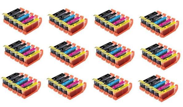 Printer Cartridge C-550/551XL Multipack 5 stuks voor Canon, 12x