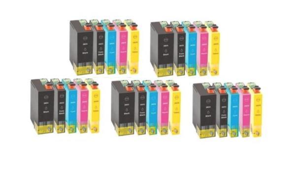 Printer Cartridge T26XL Multipack 4 stuks voor Epson, 5x