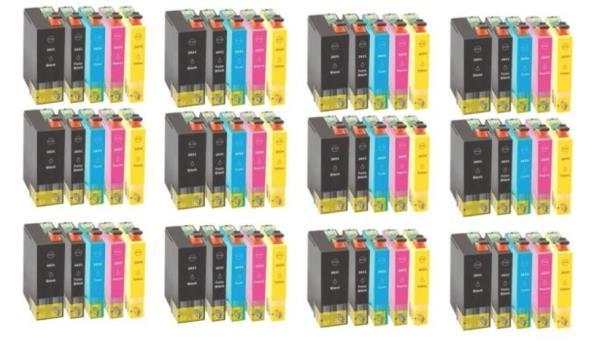 Printer Cartridge T26XL Multipack 4 stuks voor Epson, 12x