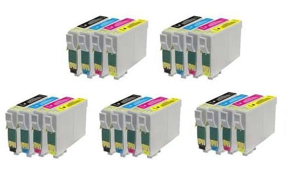 Printer Cartridge TO715 Multipack 4 stuks voor Epson, 5x