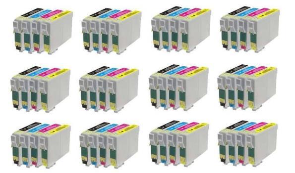 Printer Cartridge TO715 Multipack 4 stuks voor Epson, 12x