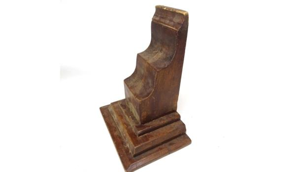 Antieke houten console