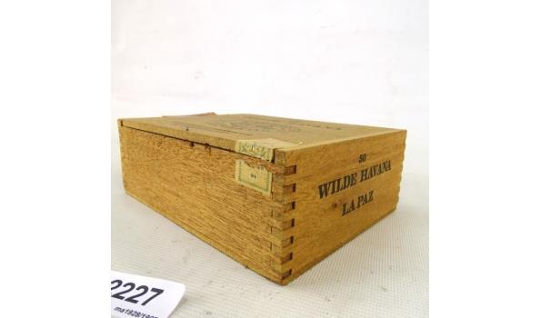La Paz houten sigarenkist