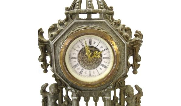 Oude tinnen klok