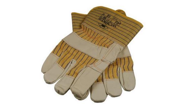 Werkhandschoenen Meubelleder, 12 paar
