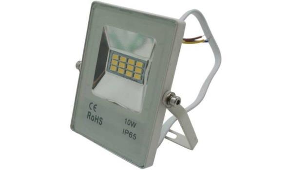 Ledstraler flatline 10 watt, 8x