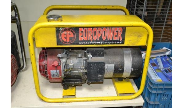 Euro Power benzine aggregaat