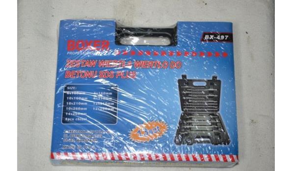 Boxer SDS borenset in koffer