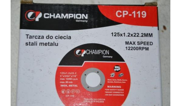 Champion slijpschijven