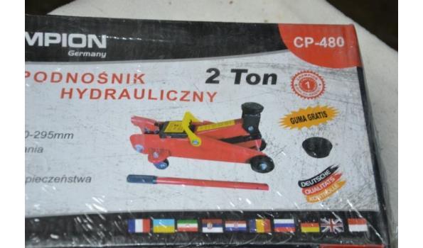 Champion hydraulische garagekrik, 2 T