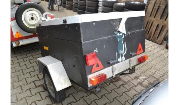Compacte aanhangwagen