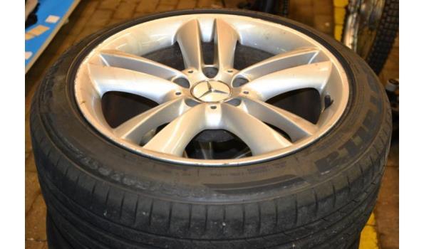Mercedes lichtmetalen velgen incl. banden - 4 stuks