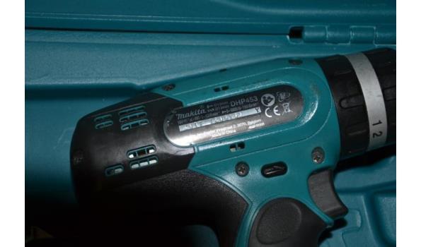 Makita accuboormachine model DHP453