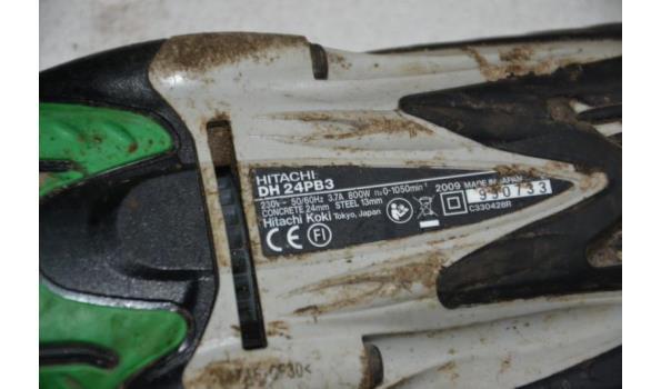 Hitachi elektrische boormachine type DH 24PB3