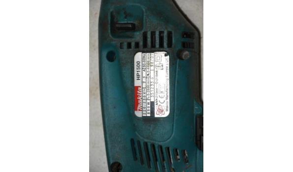 Makita elektrische boormachine type HP1500