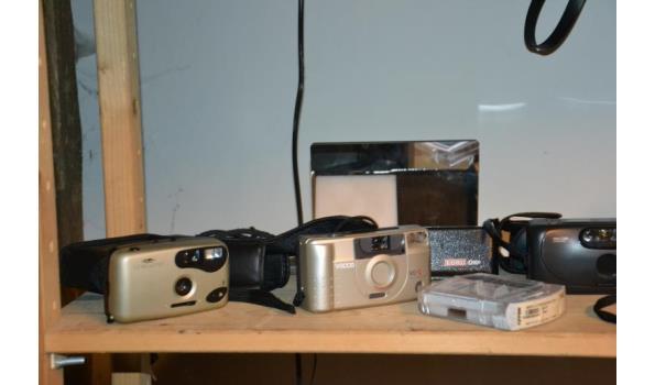 Partij fototoestellen & accessoires