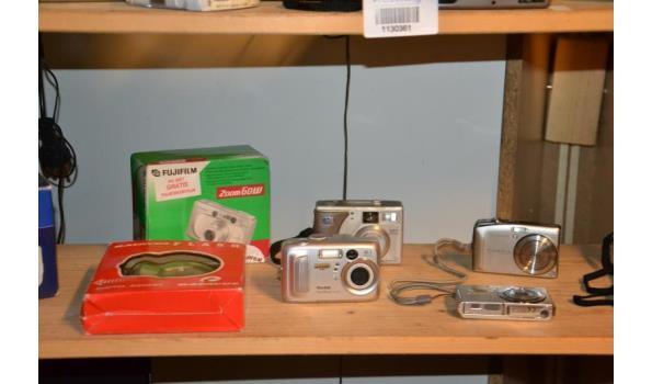Partij digitale fotocamera