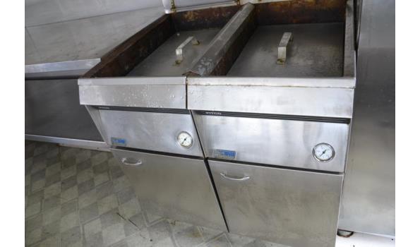 Verkoopwagen incl. horeca-apparatuur