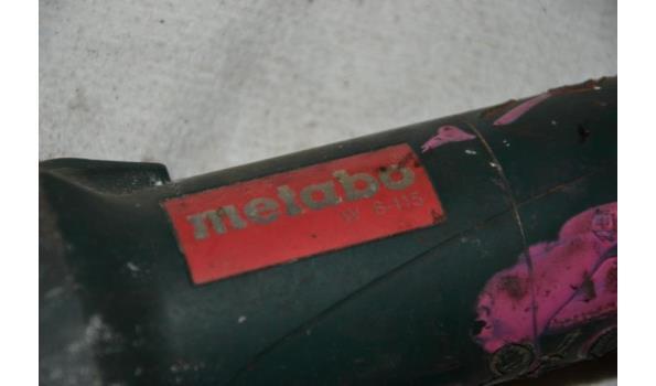 Metabo elektrische haakse slijper type 6-115