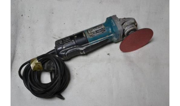 Makita elektrische haakse slijper type 9558PB