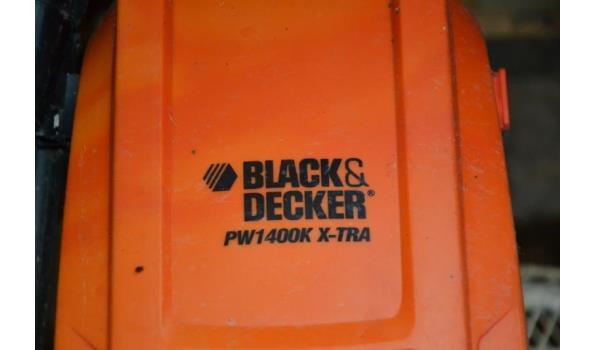 Black & Decker elektrische hogedrukreiniger type pw1400k x-tra