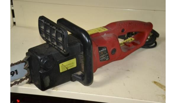 Gamma elektrische kettingzaag type KZ-1800-S35