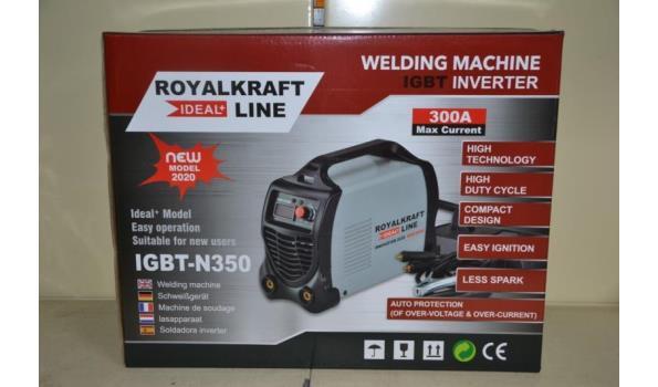 Royal Kraft Line lasapparaat type IGBT-N350