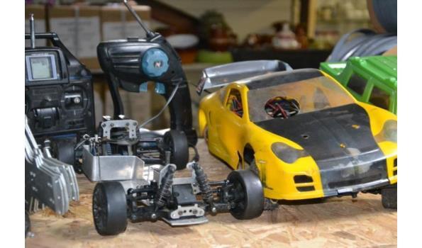Partij bestuurbare Nitro auto