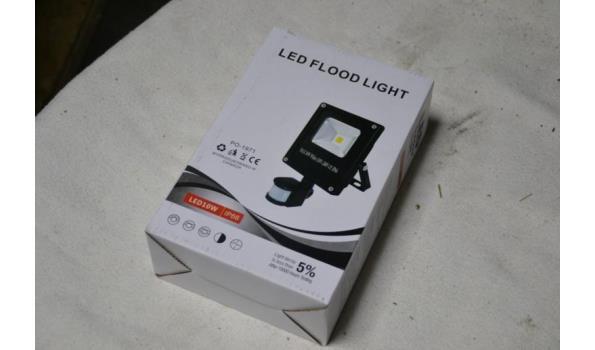 Led-bouwverlichting, 10W