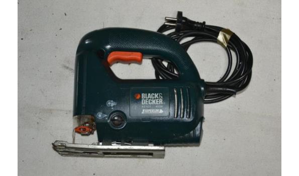 Black & Decker elektrische decoupeerzaag type KS 631