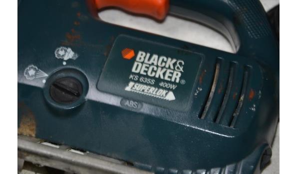 Black & Decker elektrische decoupeerzaag type KS 635S