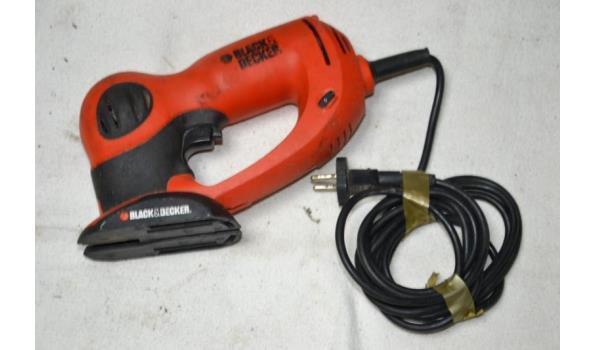 Black & Decker elektrische reciprozaag type KS990E