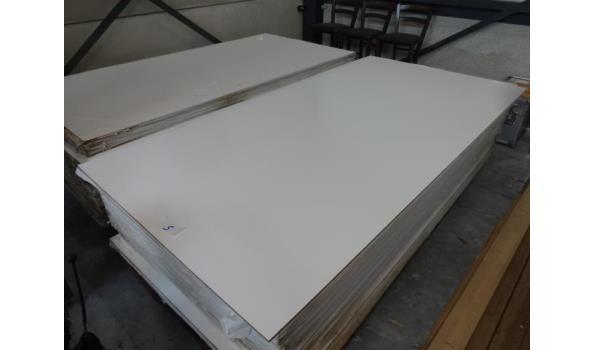 Meranti afwerkplaten - 15 stuks