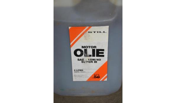 Motor- / Hydro olie
