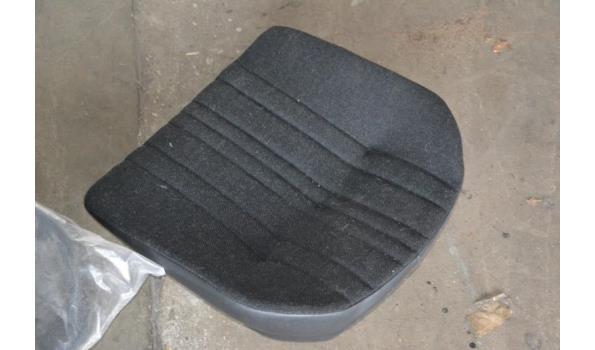 Bestuurdersstoel zitting
