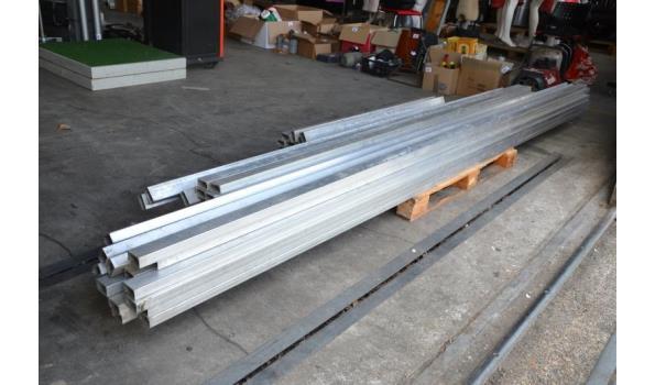 Aluminium profielen voor tentbouw