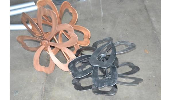 Windmolen (vorm bloem) 2 stuks