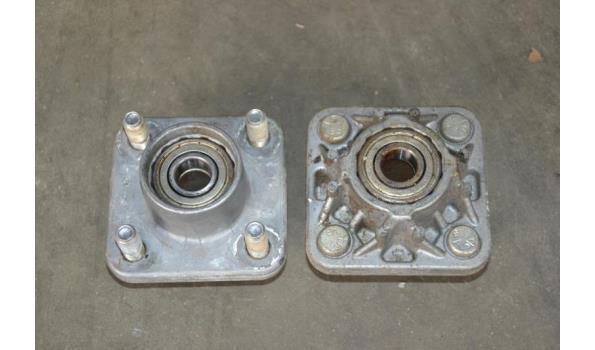 voertuig naven (aluminimum) LANGZAAM-verkeer, tbv 4-gaats velgen
