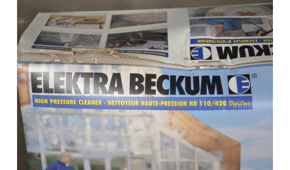 Elektra Beckum hogedrukreiniger