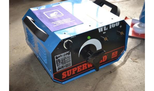 Lasapparaat Superweld, type WL 160, 220/380 V