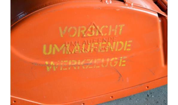 Grond – Freesmachine bakken t.b.v. Agria grondfrees machine