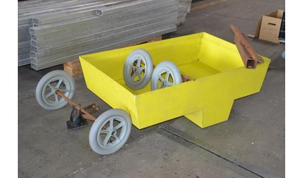 Bolder wagen, nog af te bouwen