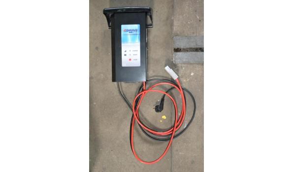 Accu-/ Batterij lader, 36 volt, ingesteld voor GEL-batterijen 420 Ah.
