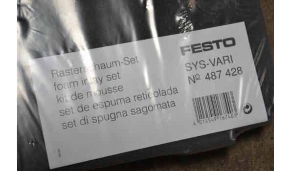 Festo systainer schuimstof inleg set.