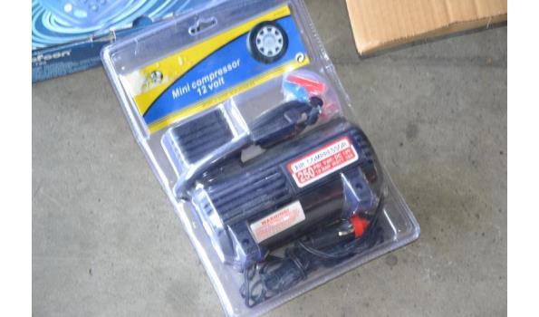 Lader t.b.v. Li-ion batterijen, Mini-compressor 12-volt, Profoon draadloze telefoon, soldeertin (3- st)
