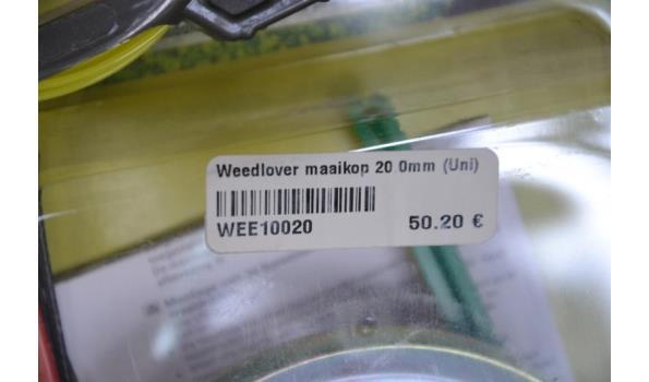 Bosmaaier Weedlover maaikop, Nylon maaidraad voor maaikop