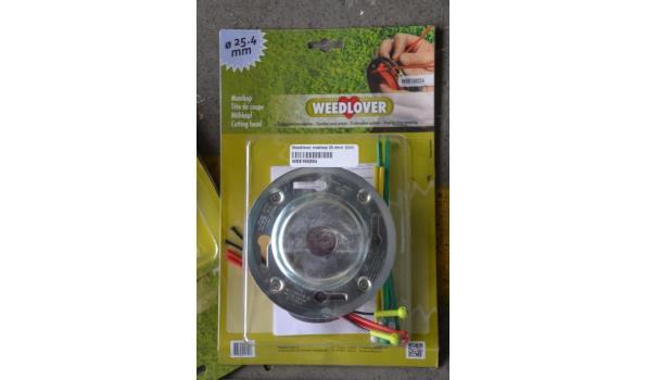 Verschillende nylon maai draden, maaikoppen (Weedlover)